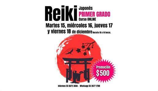 Primer grado de Reiki Japonés., 15 December | Online Event | AllEvents.in