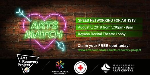 Arts Match @ Keyano Recital Theatre Lobby