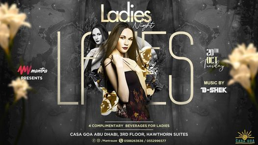 Mantra presents Tuesday's Ladies Night | Event in Abu Dhabi | AllEvents.in