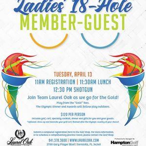 Ladies 18-Hole Member-Guest