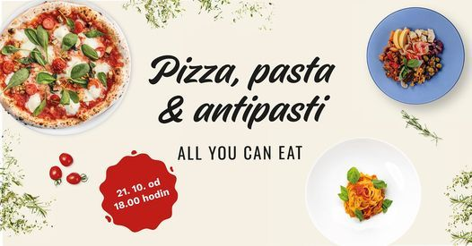 Pizza, pasta & antipasti all you can eat, 21 October   Event in Lanškroun   AllEvents.in