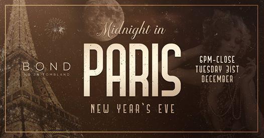 Bond presents - Midnight in Paris NYE