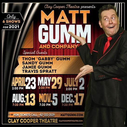 Matt Gumm and Company, 29 May | Event in Branson | AllEvents.in