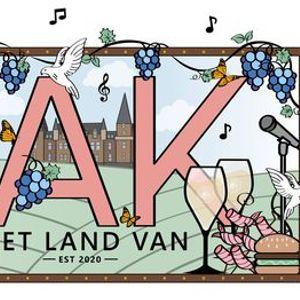 Het Land van OAK  Taste Experience  20.00u-00.00u
