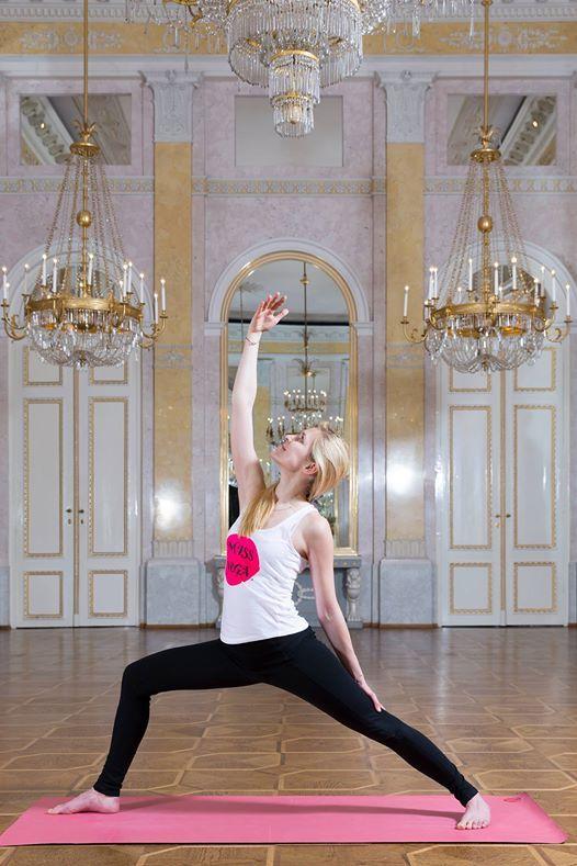 Yoga in der Albertina