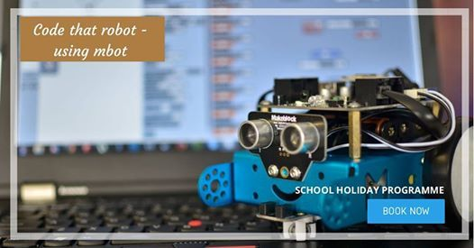 Code the Mbot Robot- Northcote School Holiday Programme