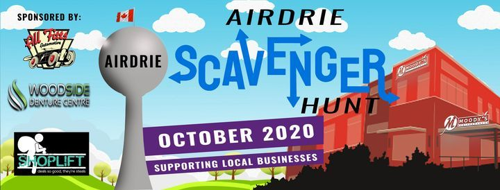 Airdrie Business Scavenger Hunt | Event in Airdrie | AllEvents.in