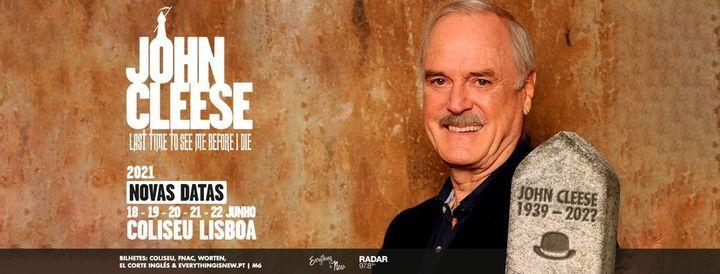 Novas Datas: John Cleese // Coliseu de Lisboa, 18 June | Event in Lisbon | AllEvents.in