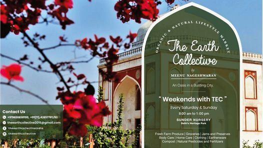 TEC Organic & Natural Lifestyle Market @Sunder Nursery, 24 October   Event in New Delhi   AllEvents.in