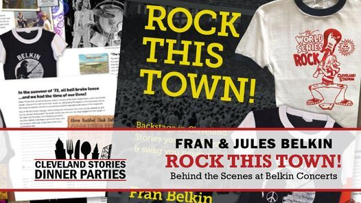 CLE Stories: Rock this Town, 4 November | Event in Cleveland | AllEvents.in