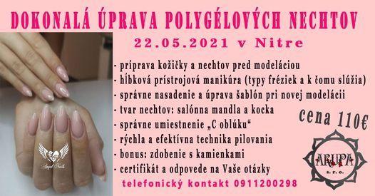 Školenie - Dokonalá úprava polygélových nechtov, 14 November | Event in Nitra | AllEvents.in