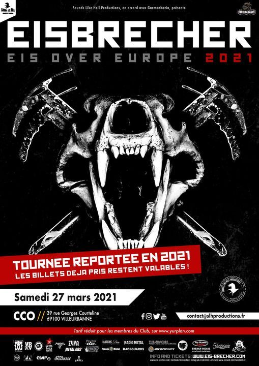 Eisbrecher - Eis over Europe 2021  Lyon (CCO)