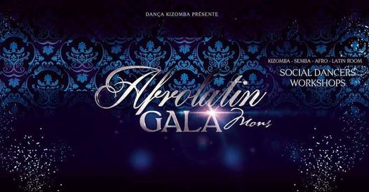 ♔ Afrolatin Gala 2021♔, 16 October   Event in Mons   AllEvents.in