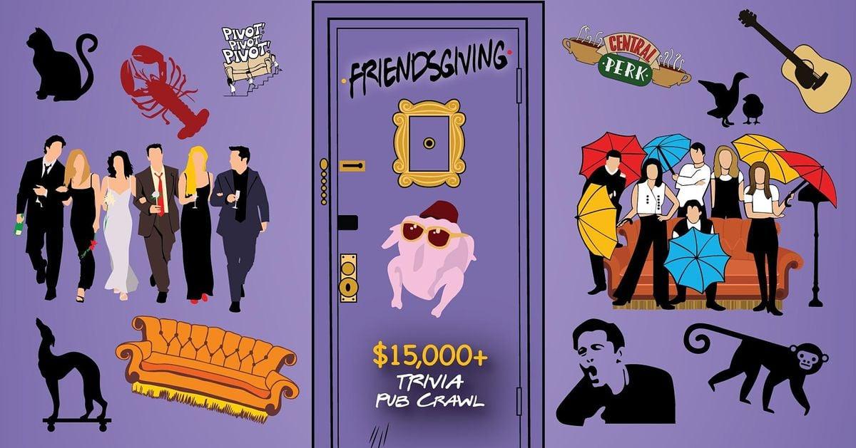 Grand Rapids - Friendsgiving Trivia Pub Crawl - $15,000+ IN PRIZES!, 20 November   Event in Grand Rapids   AllEvents.in