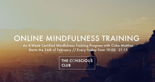 Online Mindfulness Training ๑ Strengthen Mental Resilience | Event in Amsterdam | AllEvents.in
