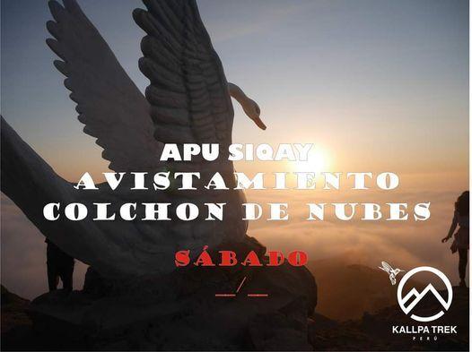 Avistamiento Colchon de Nubes - Apu Siqay, 12 June | Event in Lima | AllEvents.in