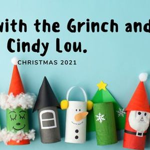 Lunch with the Grinch and Cindy Lou.