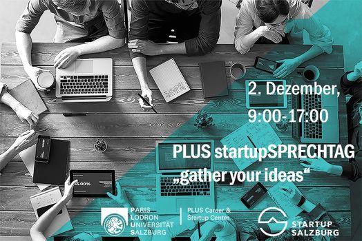 PLUS startupSPRECHTAG, 2 December | Event in Salzburg | AllEvents.in
