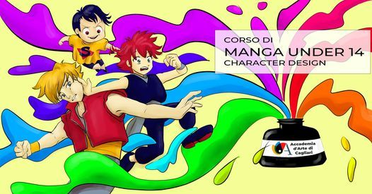 Corso di Manga under 14 - Character Design, 15 May | Event in Cagliari | AllEvents.in
