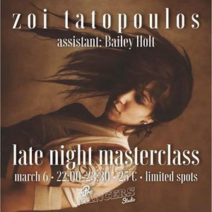 Zoi Tatopoulos  Late Night Masterclass  The ProDancers Studio