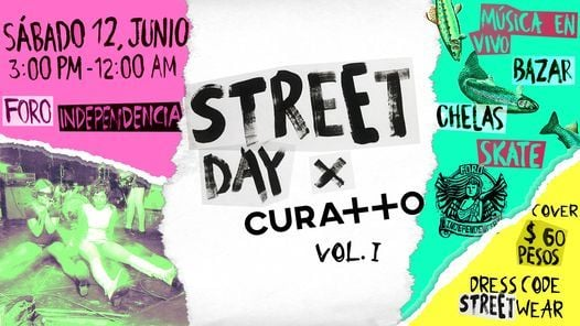 """""""STREET DAY"""" by CURATTO vol. 1, 25 September   Event in Guadalajara   AllEvents.in"""
