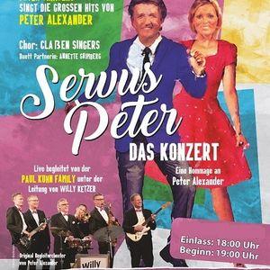 Servus Peter - Das Konzert