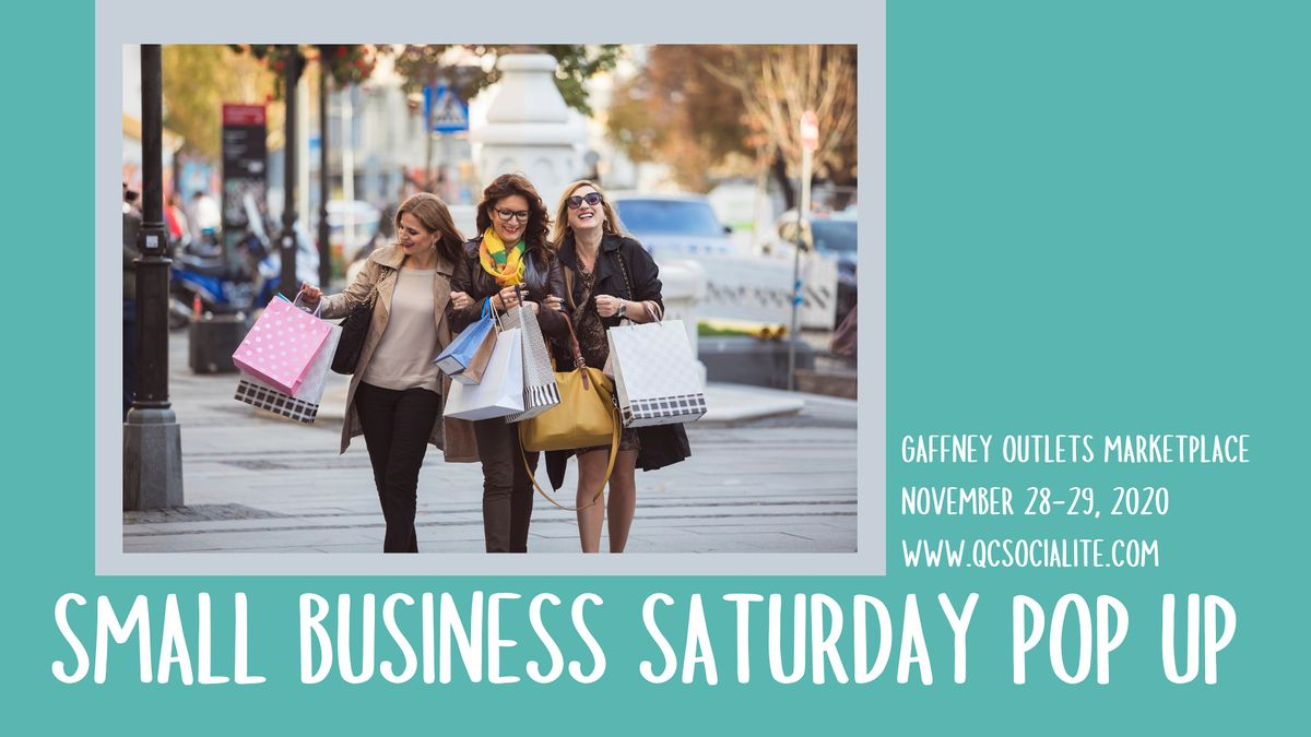 SMALL BUSINESS WEEKEND POP UP, 28 November | Event in Gaffney | AllEvents.in