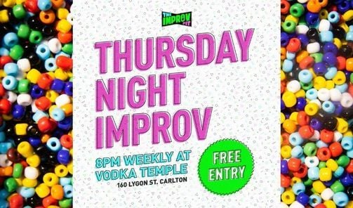 Thurs Night Improv   Event in South Yarra   AllEvents.in