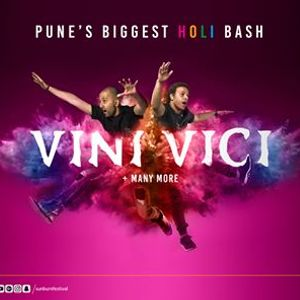 Sunburn Holi with Vini Vici - Pune