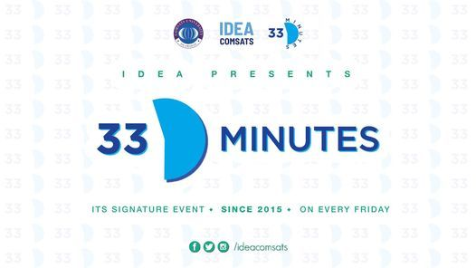 33 Minutes by IDEA, 29 January   Event in Islamabad   AllEvents.in