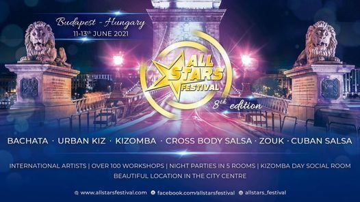 All Stars Festival 2021 Budapest ☆ 11-13 June 2021, 11 June | Event in Budapest | AllEvents.in