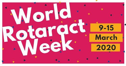 Image result for world rotaract week 2020