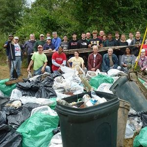 International Coastal Cleanup: Oradell Reservoir at 1