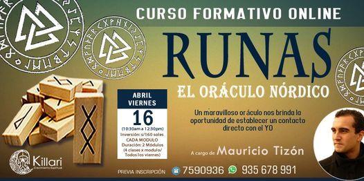 Curso Formativo Online de Runas: El Oráculo Nórdico, Canalizador de energía!   Event in Lince   AllEvents.in