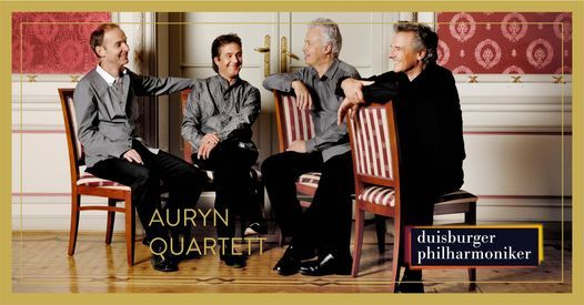 8. Kammerkonzert, Auryn Quartett, 16 May | Event in Duisburg | AllEvents.in