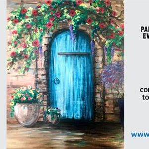 Italy - Paint Night on Zoom