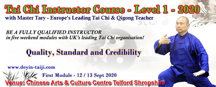 Deyin Tai Chi Instructor course 2020