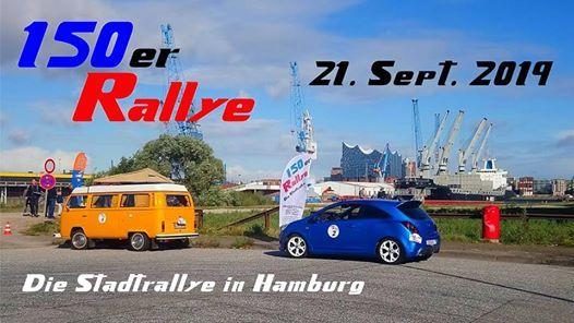 150er Rallye 2019
