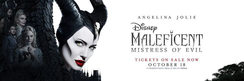 Maleficent Mistress Of Evil Pg 7 00pm 9 30pm Tix On Sale