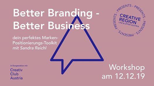 WORKSHOP BETTER BRANDING - BETTER BUSINESS
