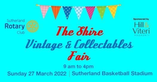 Shire Vintage and Collectables Fair, 12 September | Event in Sutherland | AllEvents.in
