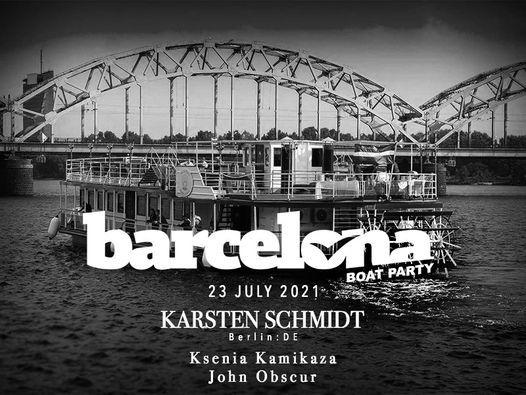 BARCELONA boat party: Karsten Schmidt (Berlin:DE) | Event in Riga | AllEvents.in
