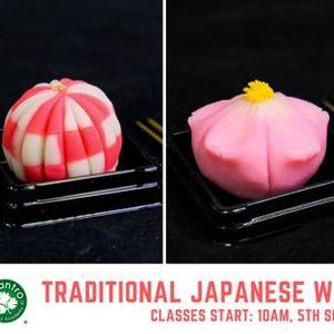 Traditional Japanese Wagashi Workshop