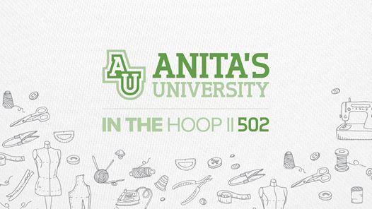 Anitas University - Embroidery Design