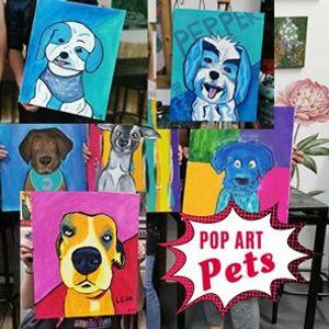 Paint your Pet Pop Art Style