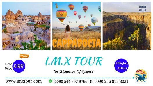 CAPPADOCIA TOUR / 2 NIGHTS 3 DAYS, 22 May | Event in Mugla | AllEvents.in