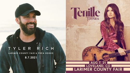 Tyler Rich & Tenille Townes, 7 August   Event in Loveland   AllEvents.in