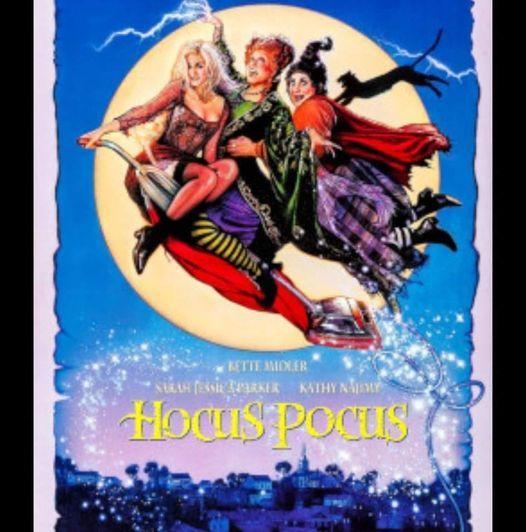 Halloween Cinema night showing hocus pocus, 29 October   Online Event   AllEvents.in