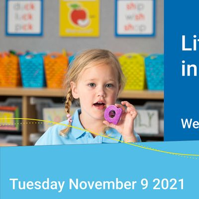 Literacy and Learning in Kindergarten November 2021