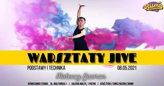 Warsztaty JIVE'a w RITMO   podstawy stylu z Mateuszem   08.05   Event in Poznan   AllEvents.in